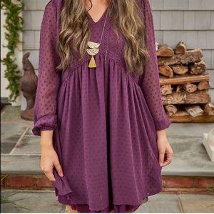 NWT Matilda Jane Purple Festive Fancy Dress